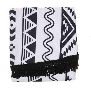 🏖 DSW Exclusive Black Patterned Beach Blanket 🏖